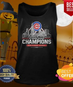 NL Central Division Champions Chicago Cubs 2020 Tank Top