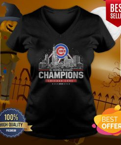 NL Central Division Champions Chicago Cubs 2020 V-neck