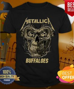 Perfect Skull Metallica Colorado Buffaloes Shirt