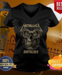 Perfect Skull Metallica Colorado Buffaloes V-neck