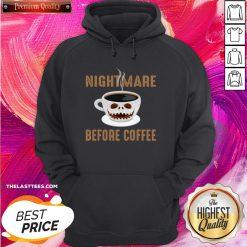 Premium Nightmare Before Coffee Halloween Hoodie