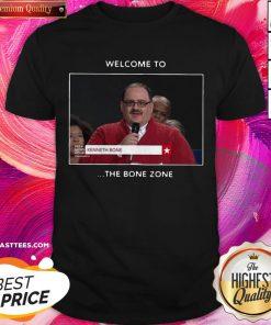 Premium Welcome To The Bone Zone Shirt