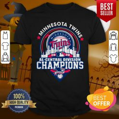 Top Minnesota Twins 2020 Al Central Division Champions American Shirt