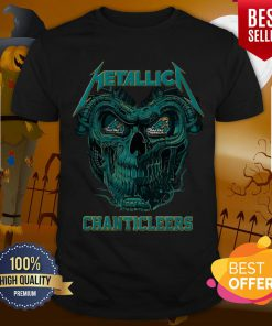 Top Skull Metallica Coastal Carolina Chanticleers Shirt