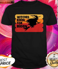 Witches Ridin For Biden Halloween Election 2020 Shirt
