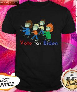 Zombies Vote For Biden Corona Virus Halloween Shirt
