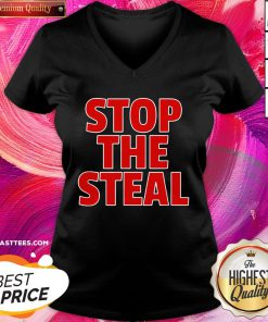 Beautiful Stop The Steal V-neck - Design By Thelasttees.com