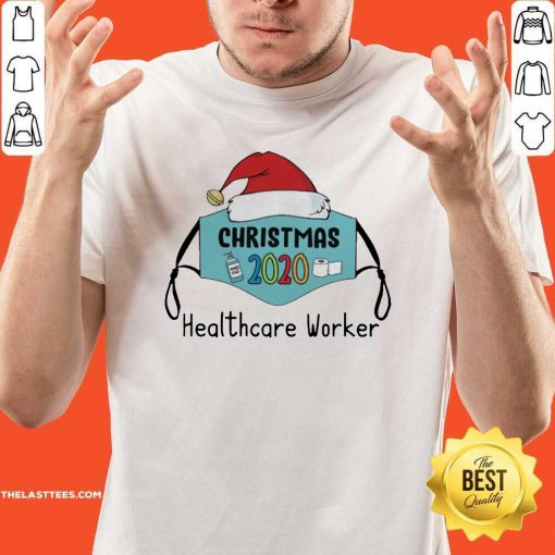 Mask Santa 2020 Anti Covid 19 Merry Christmas 2020 Healthcare Worker Shirt - Design By Thelasttees.com