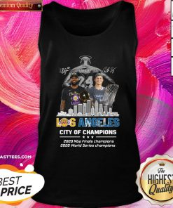 Hot Kobe Bryant Los Angeles Lakers City Of Champions 2020 Nba Final Champions 2020 World Series Champions Tank Top - Design By Thelasttees.com