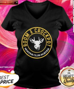 Lovely Boom And Crockpot Hunter Club Hunter V-neck - Design By Thelasttees.com