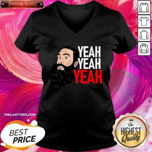 Brodie Lee Yeah Yeah Yeah V-neck - Design By Thelasttees.com