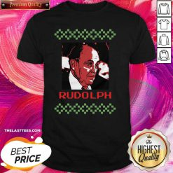 Rudolph Ugly Merry Christmas Shirt - Design By Thelasttees.com