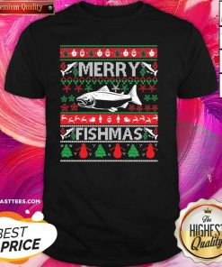 Merry Fishmas Ugly Merry Christmas 2020 Shirt - Design By Thelasttees.com