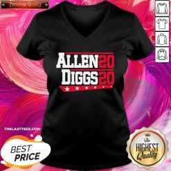 Buffalo Bills Allen Diggs 2020 V-neck - Design By Thelasttees.com