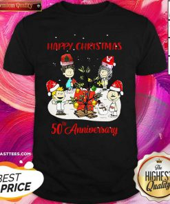 Christmas Queen 50th Anniversary Christmas Shirt - Design By Thelasttees.com