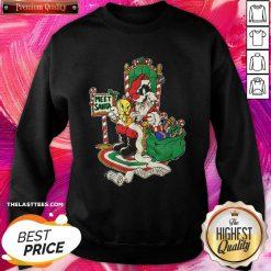 Meet Santa Merry Christmas Sweatshirt - Design By Thelasttees.com
