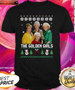 The Golden Girls Ugly Merry Christmas Shirt - Design By Thelasttees.com