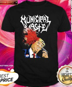 Municipal Waste Trump Walls Of Death Shirt - Design By Thelasttees.com