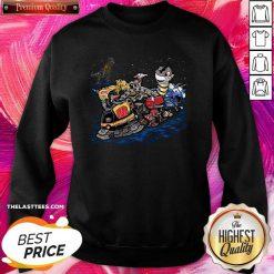 Official Autobot Cartoon Transformer SweatShirt - Design by Tshirttop