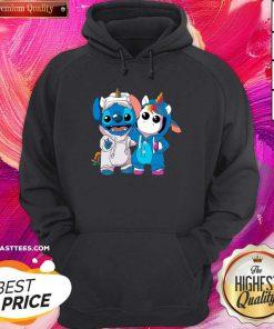 Premium Lilo And Stitch With Unicorn 2021 Hoodie