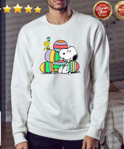 Awesome Snoopy And Woodstock Happy Easter Day 2021 Sweater