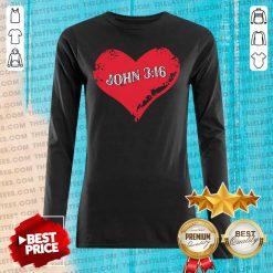 Perfect True Love John 3 16 Christian Long-sleveed