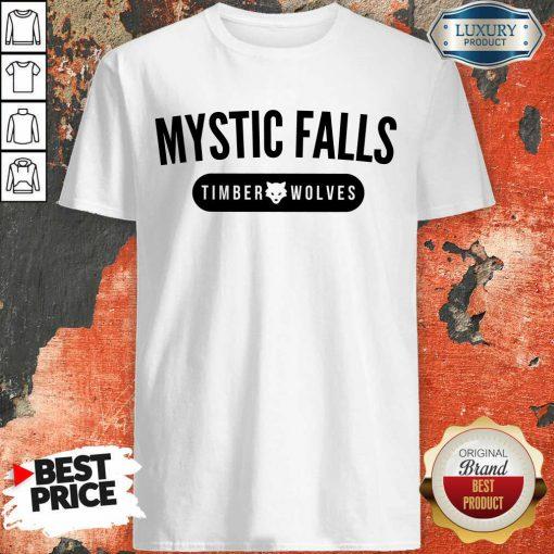 Happy Vampire Diaries Mystic Falls Timberwolves Shirt