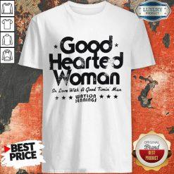 Good Hearted Woman In Love With A Good Timin Man Waylon Jennings Shirt