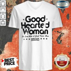 Good Hearted Woman In Love With A Good Timin Man Waylon Jennings V-neck