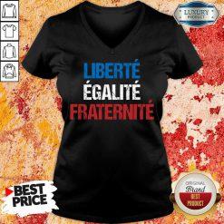 Liberte Egalite Fraternite V-neck