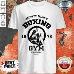 Mighty Mick's Boxing Gym Philadelphia 1976 Shirt