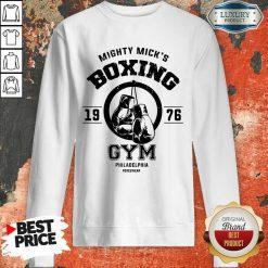 Mighty Mick's Boxing Gym Philadelphia 1976 Sweatshirt