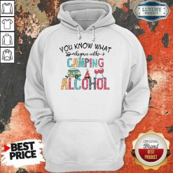You Know What Rhymes With Camping Alcohol Camping Lover Hoodie